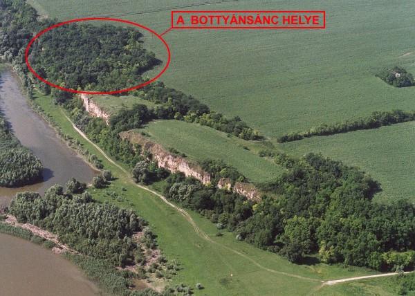 Bottyánsánc, kuruc kori sánc